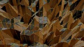 Halftone koloru tło abstrakt kropkujący wzór Wektorowy illu Obraz Royalty Free