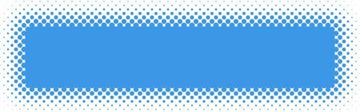 Halftone kopbal/de Banner van het Web Royalty-vrije Stock Foto's