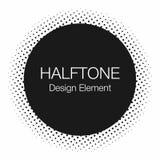 Halftone kropki Monochrom, abstrakcjonistyczny tło w wystrzał sztuki stylu ilustracja wektor