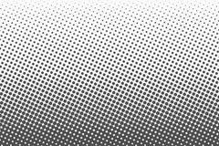 Halftone kropki Monochromatyczny wektorowy tekstury tło dla prepress, DTP, komiczki, plakat Wystrzał sztuki stylu szablon ilustracja wektor
