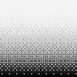 Halftone kropki na białym tle ilustracja wektor