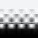 Halftone kropki na białym tle royalty ilustracja