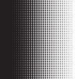 Halftone kropki wzoru gradient w formacie royalty ilustracja