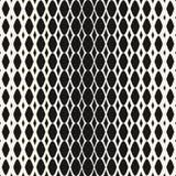 Halftone mesh seamless pattern. Vector geometric texture. Royalty Free Stock Photos