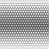 Halftone monochrome geometric pattern Stock Images