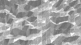 Halftone monochromu tło abstrakt kropkujący wzór wektor Zdjęcie Stock