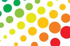 halftone multicolor Стоковое Изображение RF