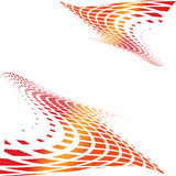 halftone multicolor Стоковая Фотография