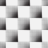 Halftone naadloos patroon als achtergrond Royalty-vrije Stock Foto's