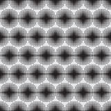 Halftone naadloos patroon als achtergrond Stock Afbeeldingen