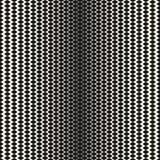 Halftone naadloos patroon, zwart-wit netwerktextuur Royalty-vrije Stock Afbeelding