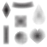 Halftone objects Stock Photography