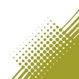 Halftone olive Stock Image