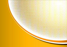 Halftone orange grunge Royalty Free Stock Photos