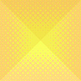 Halftone origami design background Stock Image
