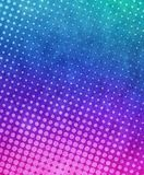 Halftone paint background Stock Image