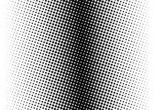Halftone patroon Grappige achtergrond Gestippelde retro achtergrond met cirkels, punten Royalty-vrije Stock Afbeelding