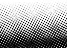 Halftone patroon Grappige achtergrond Gestippelde retro achtergrond met cirkels, punten Stock Afbeelding
