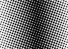 Halftone patroon Grappige achtergrond Gestippelde retro achtergrond met cirkels, punten Stock Foto