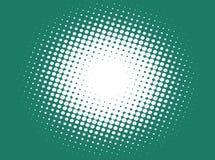 Halftone patroon, punten Royalty-vrije Illustratie