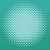 Halftone patroonachtergrond Stock Afbeeldingen