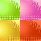 Halftone patroonvector als achtergrond Royalty-vrije Stock Afbeelding