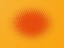 Halftone pattern. Fully editable vector version available Royalty Free Illustration