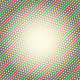 Halftone pattern background, round spot shapes, vintage or retro graphic Royalty Free Stock Photo
