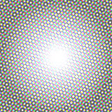 Halftone pattern background, round spot shapes, vintage or retro graphic Royalty Free Stock Image