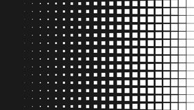 Halftone pattern background, square spot shapes, vintage or retro graphic Stock Photography