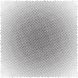 Halftone pattern background. Universal vector pattern, halftone dots on white background, screen print texture, monochrome geometric texture with repeated dots Stock Photo
