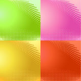Halftone pattern backgrounds vector Royalty Free Stock Image