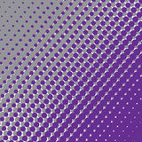 Halftone pattern of circles. Royalty Free Stock Images