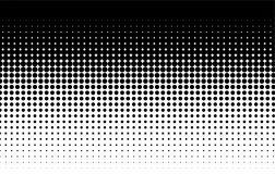 Halftone Pattern. Comic Background. Black And White Royalty Free Stock Image