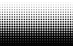 Halftone pattern. Comic background. Dotted retro backdrop with circles, dots. Black and white. Halftone pattern. Comic background. Dotted retro backdrop with Stock Image