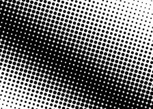 Halftone pattern. Comic background. Dotted retro backdrop with circles, dots. Stock Photo