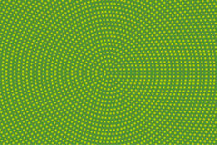 Halftone pattern. Comic background.  Green color. Halftone pattern. Comic background. Dotted retro backdrop with circles, dots. Design element for web banners Stock Photo