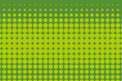 Halftone pattern. Comic background.  Green color Royalty Free Stock Photos