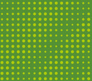 Halftone pattern. Comic background.  Green color. Halftone pattern. Comic background. Dotted retro backdrop with circles, dots. Design element for web banners Royalty Free Stock Photography