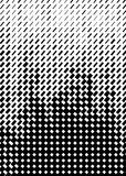 Halftone pattern . Cover A4 format, template for poster. Brochure Royalty Free Stock Image