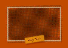 Halftone Pattern Design Background Royalty Free Stock Photos