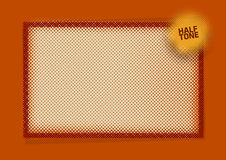 Halftone Pattern Design Background Stock Photos