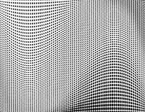Halftone pattern Digital gradient with dots. Futuristic panel. Vector illustration.  royalty free illustration