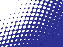 Halftone pattern, dots Stock Images