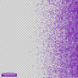 Halftone pattern vector.blue the circles to the background squares. Vector Stock Photography
