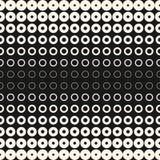 Halftone pierścionki i okręgi Nowożytny projekt dla druków, cyfrowy, sieć Fotografia Royalty Free