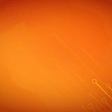Halftone pomarańczowy Tło Zdjęcie Royalty Free