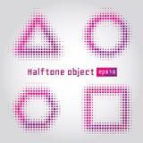 Halftone przedmiot Obrazy Stock