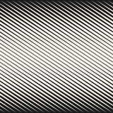 Halftone przekątna paskuje bezszwowego wzór ilustracja wektor