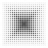 Halftone punten vectortextuur Royalty-vrije Stock Fotografie